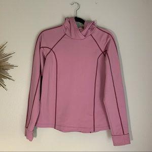 Athleta Pink Hoodie Large